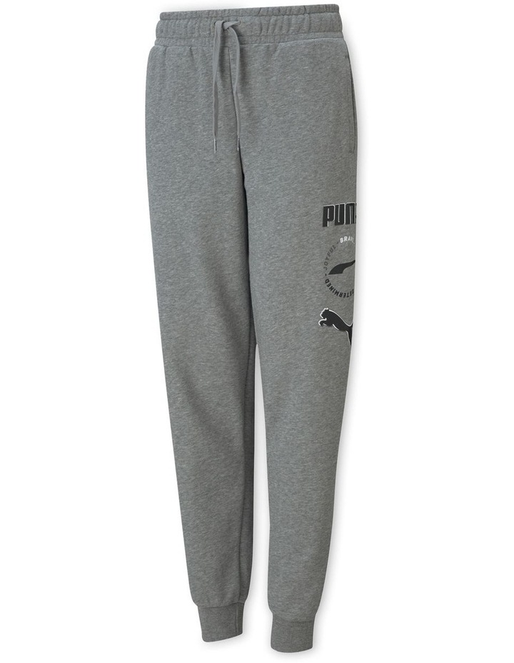 Alpha Sweatpants TR cl B Medium Gray Hea image 1