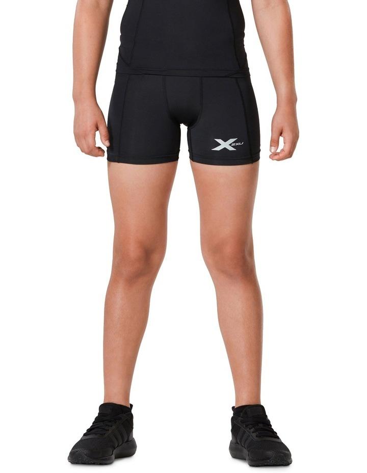 Boys Compression 1/2 Shorts image 1