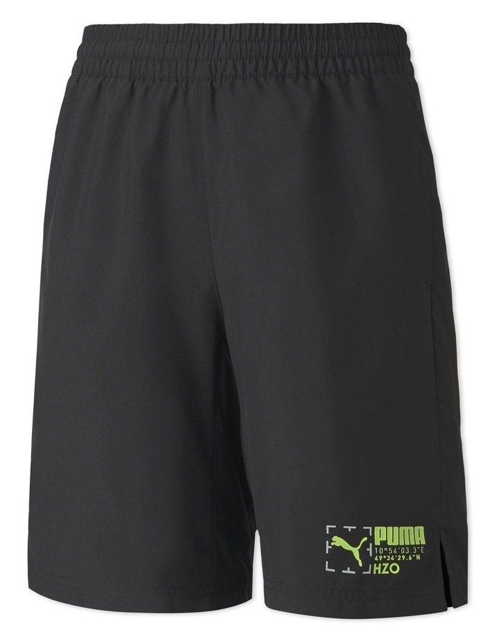 Boys Active Sports Woven Shorts Black image 1