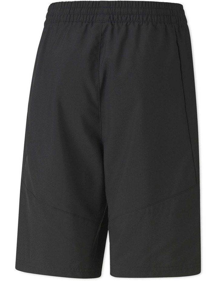 Boys Active Sports Woven Shorts Black image 2