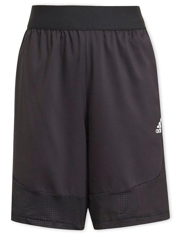 XFG Aeroready Black Sports Shorts image 1