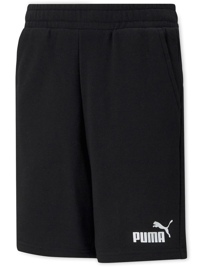 Essentials  Boys Sweat Shorts Black image 1