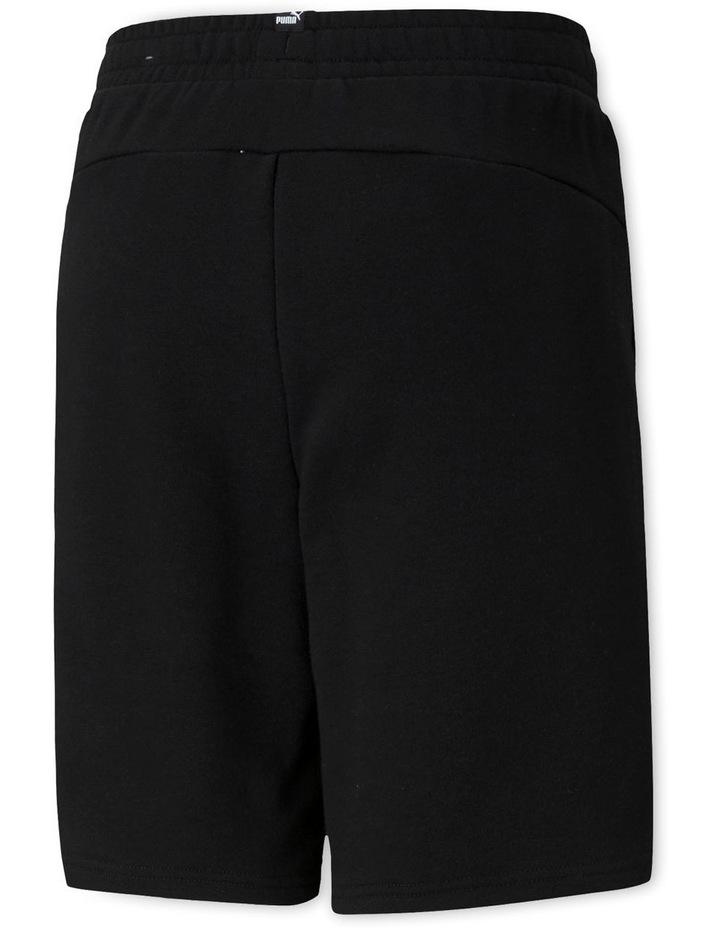 Essentials  Boys Sweat Shorts Black image 2