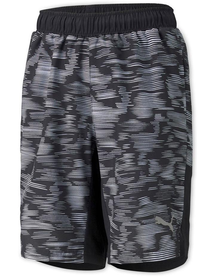 Active Sport AOP Woven Shorts Black image 1