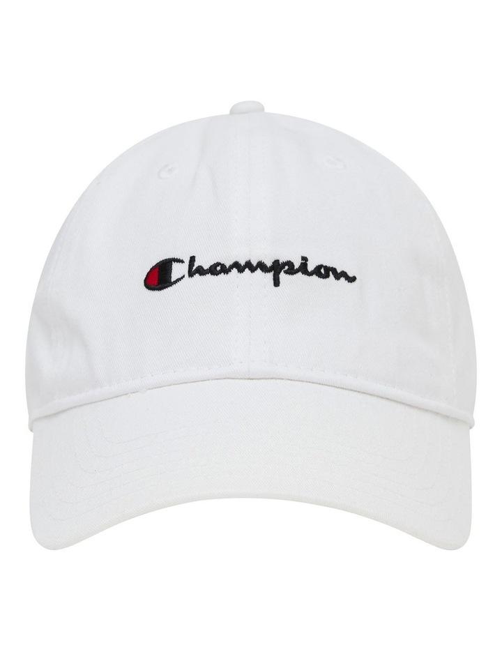 Juniors Script White Cap image 1