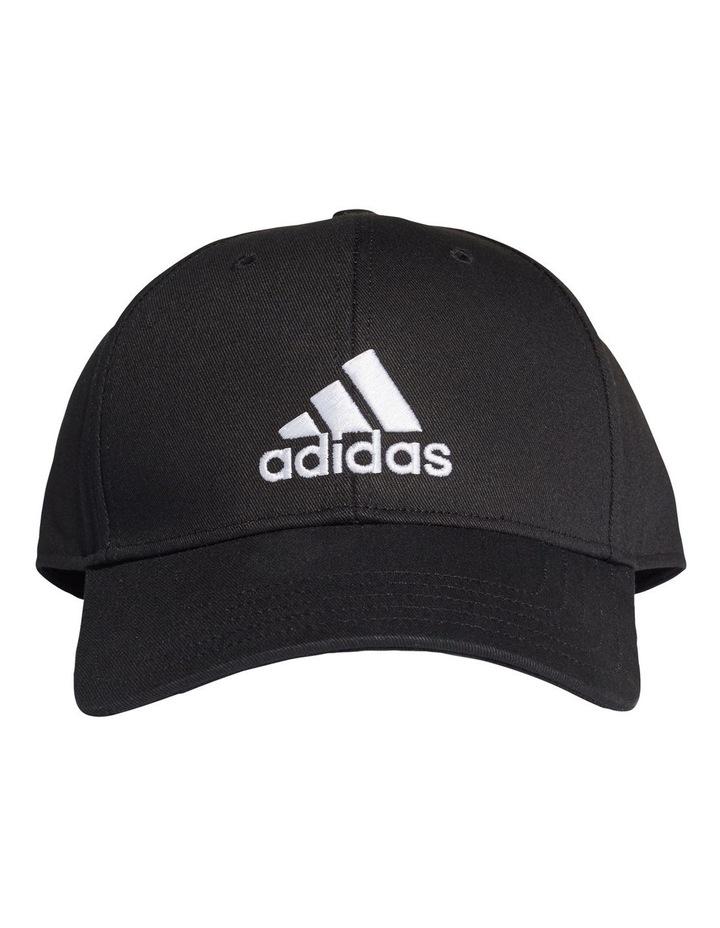 Black/White Baseball Cap image 1