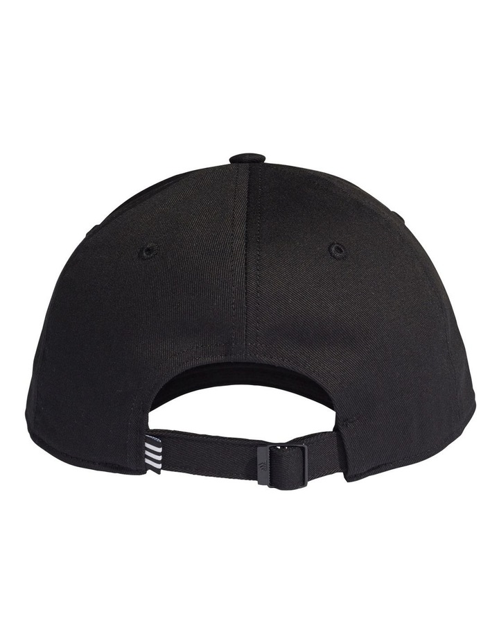 Black/White Baseball Cap image 2