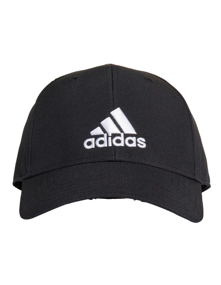 Lightweight Embroidered Black Baseball Cap image 1