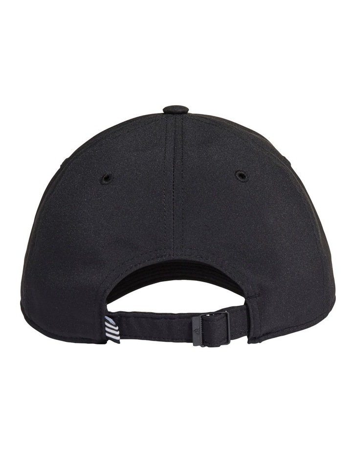 Lightweight Embroidered Black Baseball Cap image 2