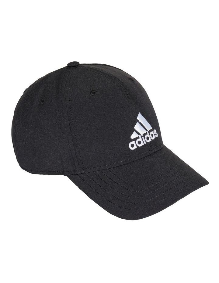 Lightweight Embroidered Black Baseball Cap image 3