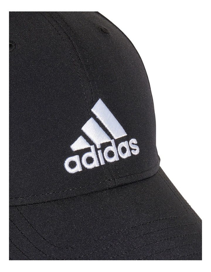 Lightweight Embroidered Black Baseball Cap image 4