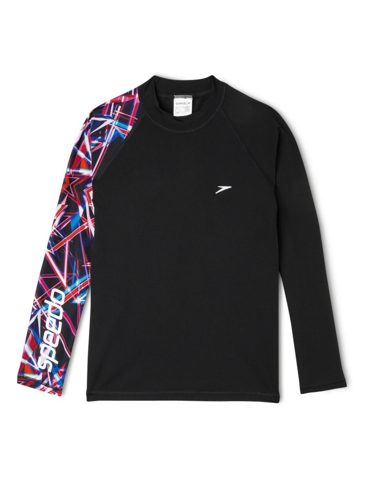 Dissect Long Sleeve Top Waterloo - Black image 1
