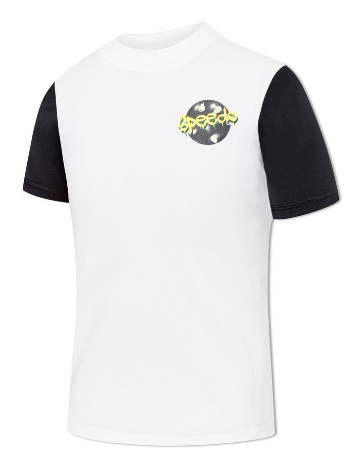 Boys Icon Logo Short Sleeve Rashie image 1