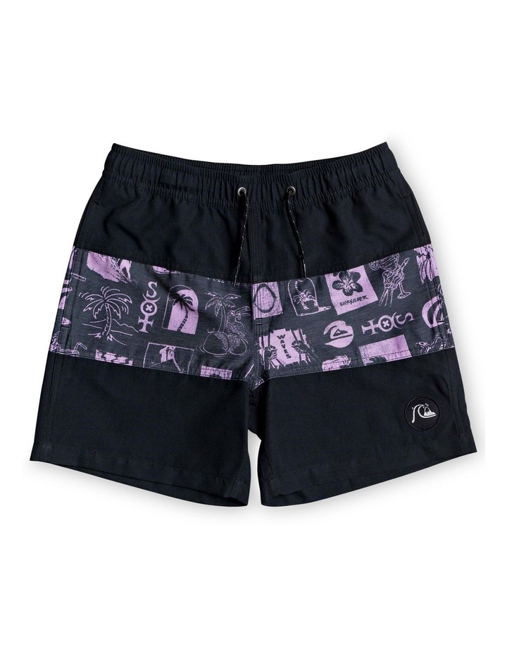 "Voodoo Block 14"" - Swim Shorts image 1"