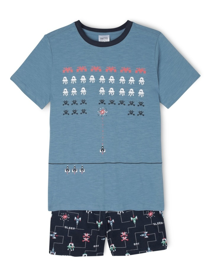 Essentials Short Sleeve Pyjama Set image 1