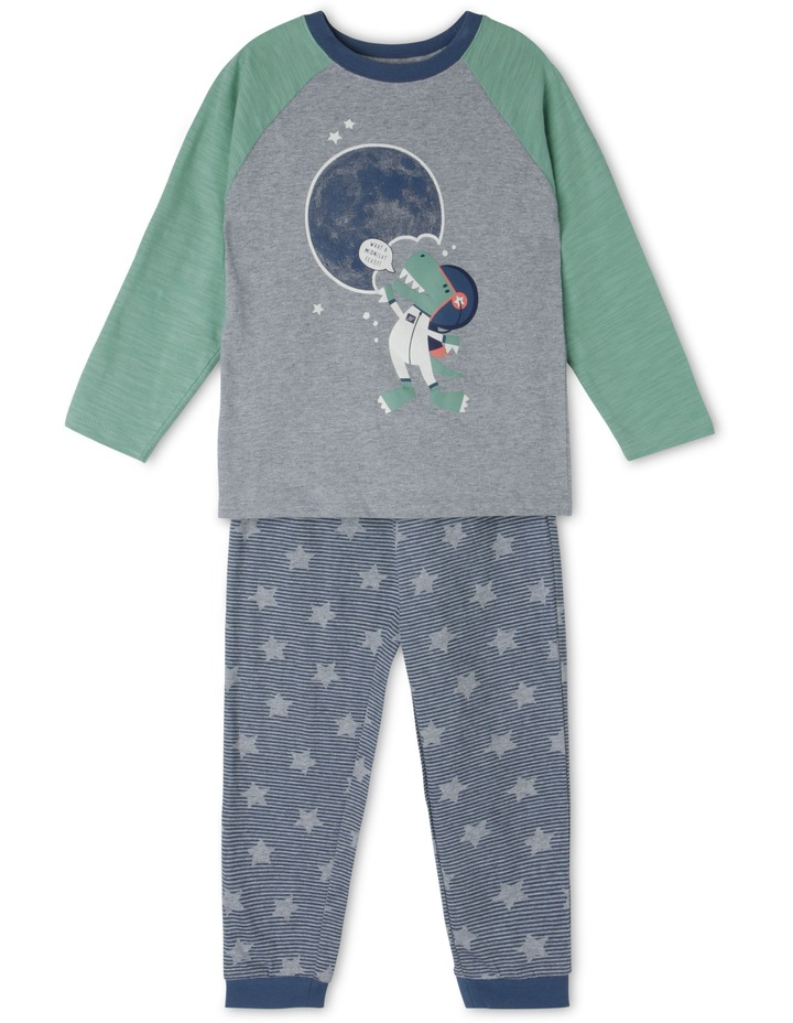 Moon and Dino Pyjama image 1