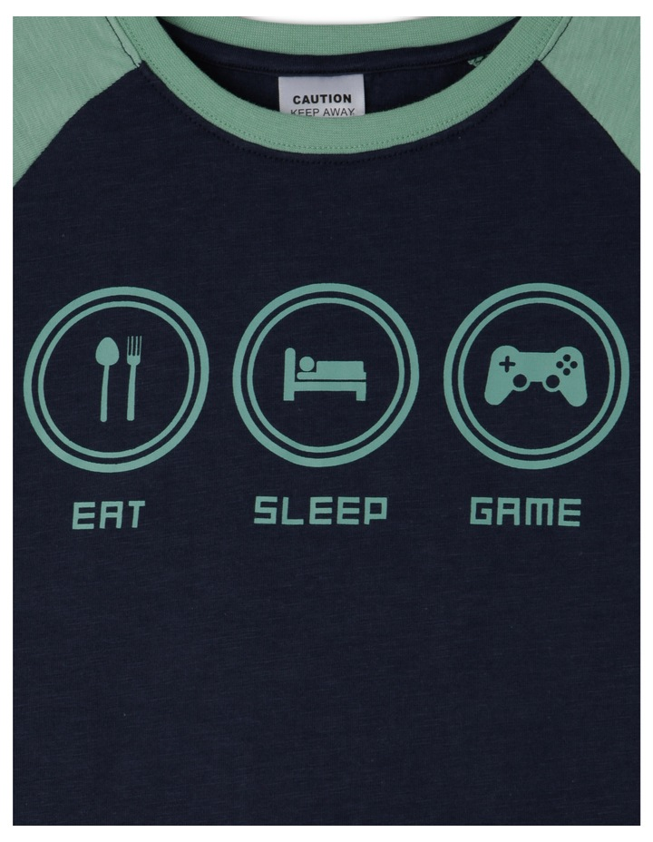 Eat Sleep Game Pyjama image 2