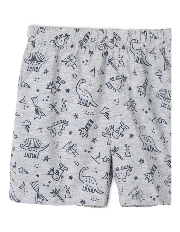 Boys Dinosaur and Volcano Print Pyjamas image 3