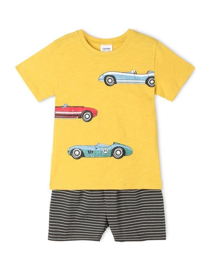 Boys Retro Race Pyjamas image 1