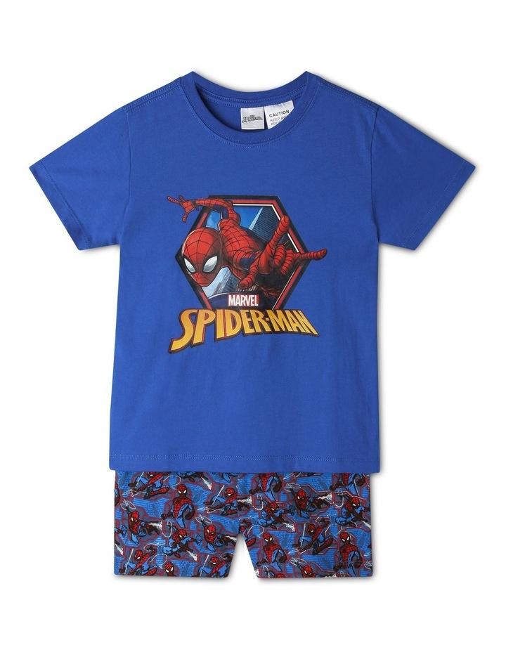Spiderman Blue Pyjama Set image 1
