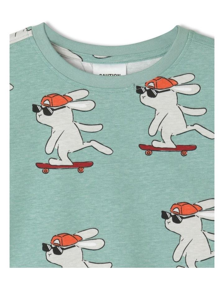 Skater Bunny Pyjama Set image 2
