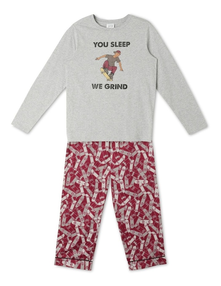 Skater Boy Pyjama Set image 1