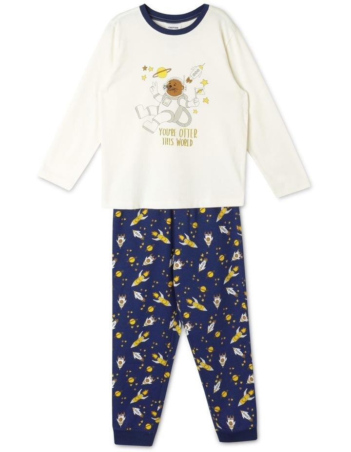 Otter in Space Pyjama Set image 1