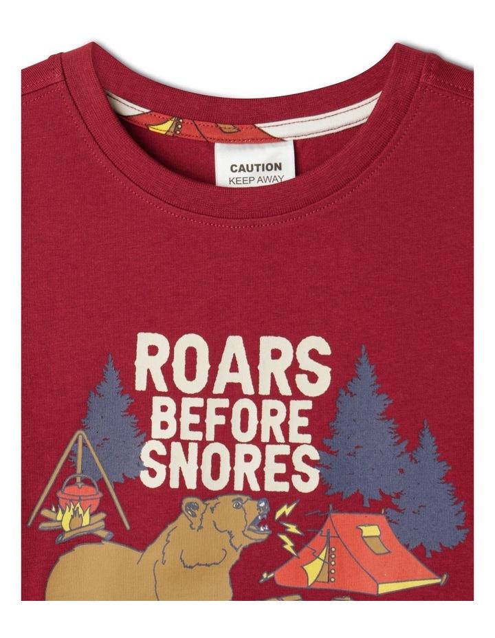 Roars Before Snores Pyjama Set image 3