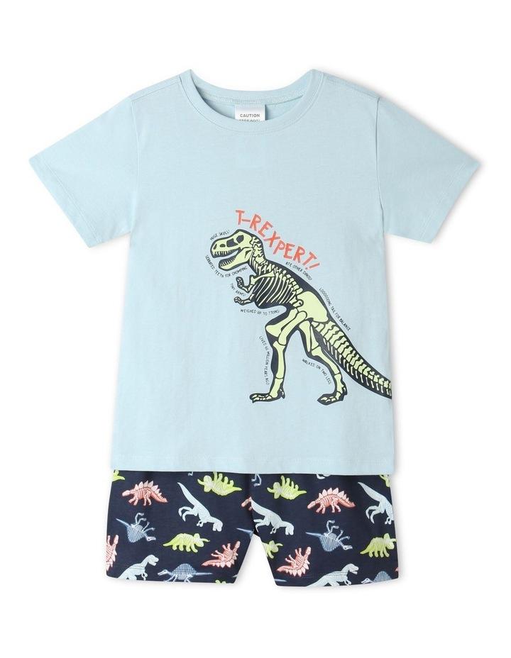 T-Rexpert Blue Pyjamas Set image 1