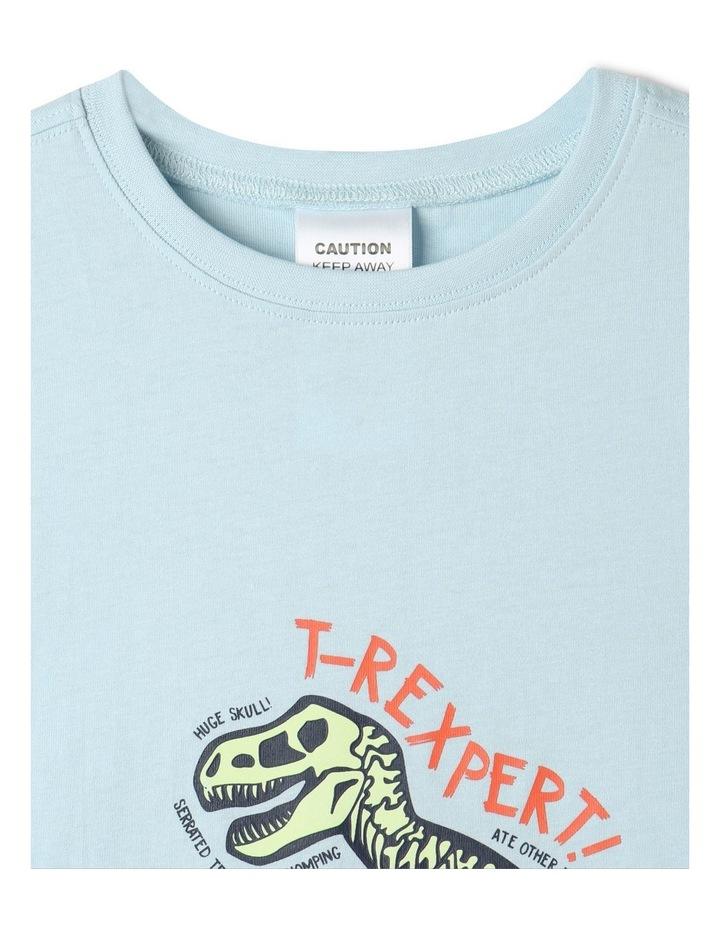 T-Rexpert Blue Pyjamas Set image 3