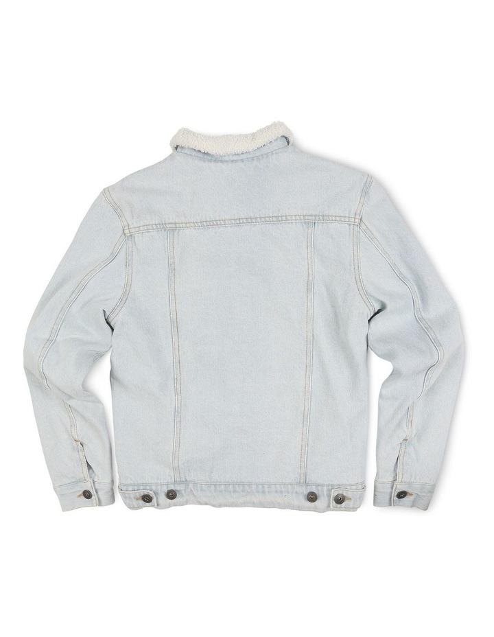 Denim Borg Jacket image 2