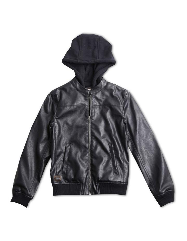 Bomber Hoodie Jacket image 1
