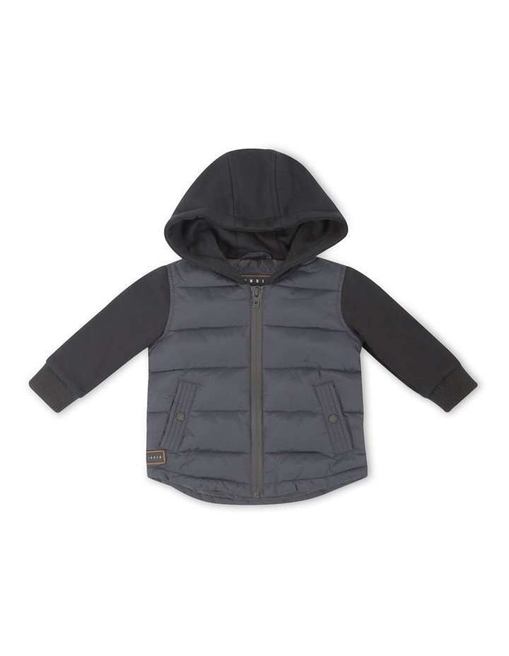 The Bleckley Navy Quilted Jacket image 1