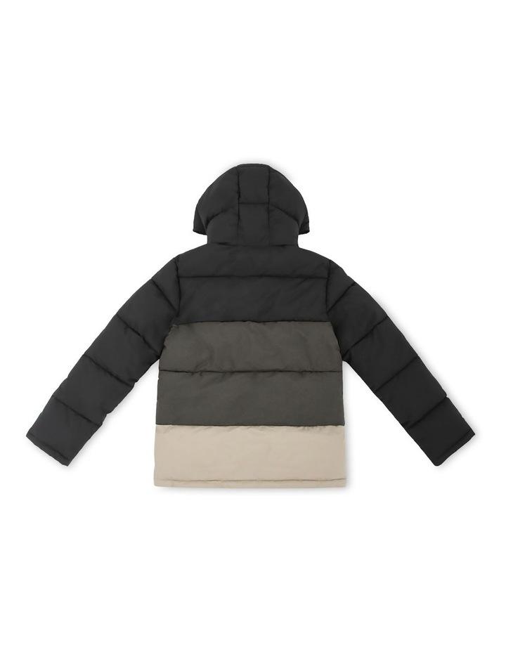 The Heath Black Puffer Jacket image 2