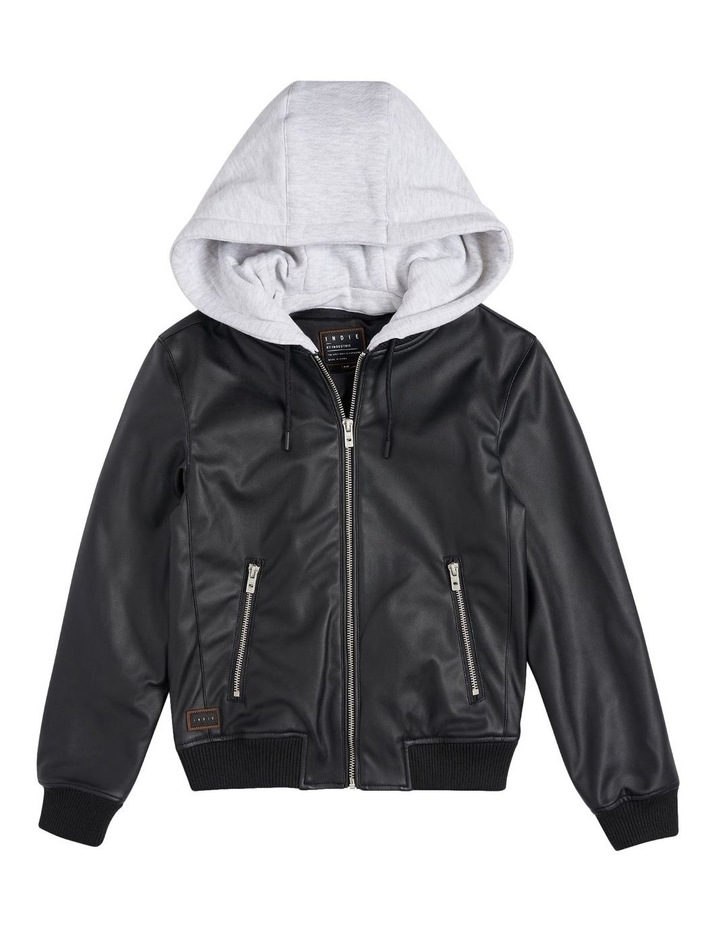 The Spries Black Puffer Jacket image 1