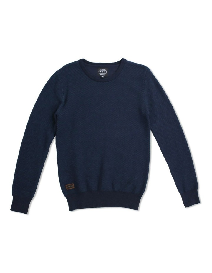 Twin Col Crew Knit image 1