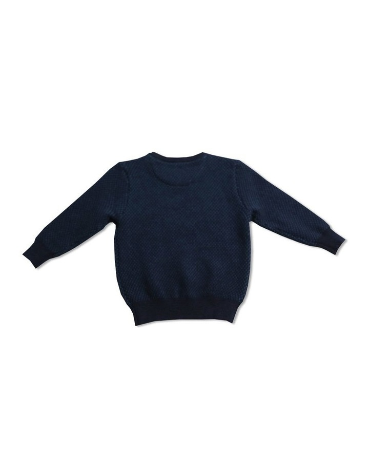 Twin Col Crew Knit image 2