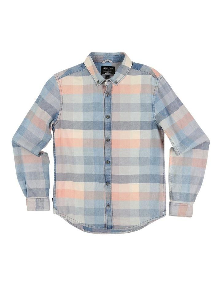 Fade Check LS Shirt image 1