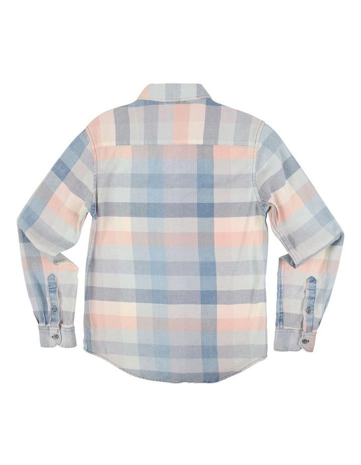 Fade Check LS Shirt image 2