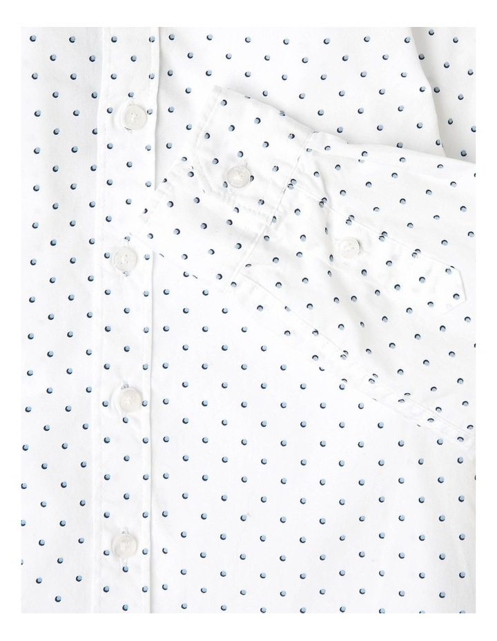 Layered Long Sleeve Polka Shirt image 3
