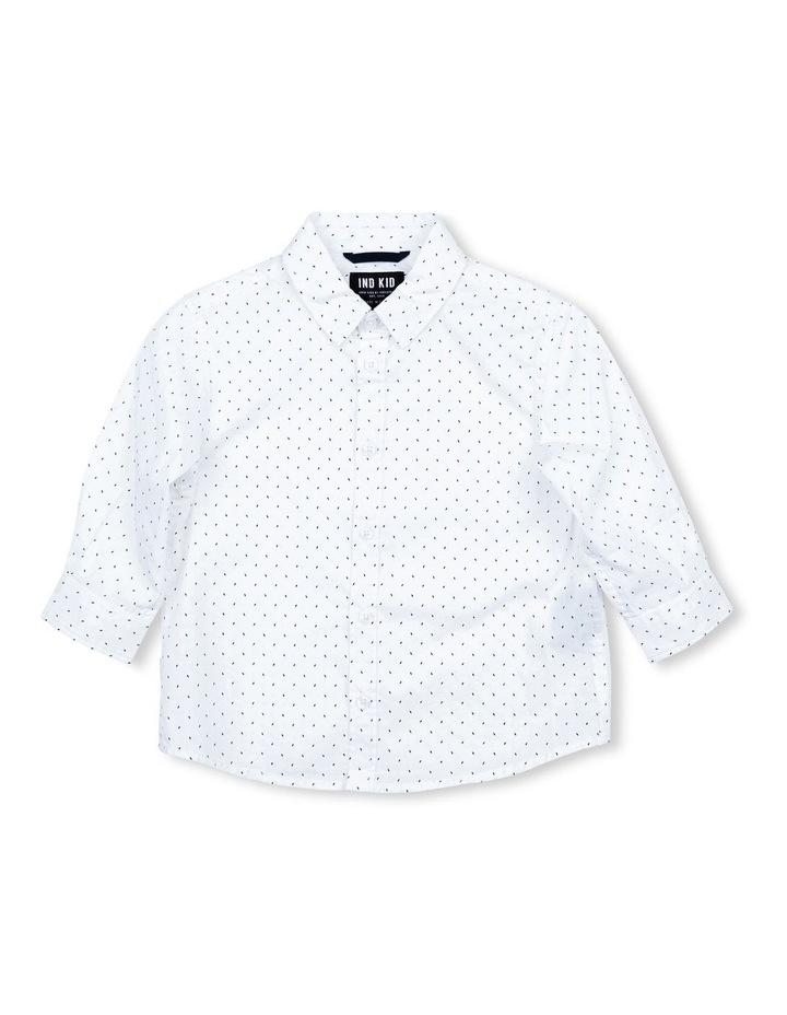 White Dash Shirt image 1