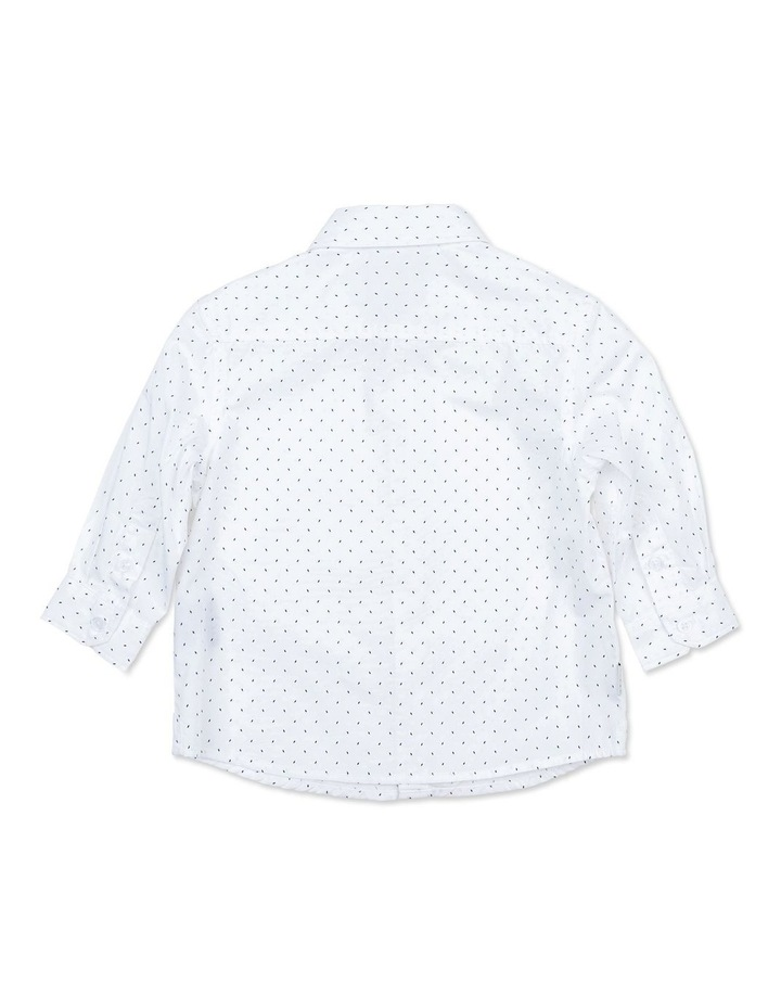 White Dash Shirt image 2