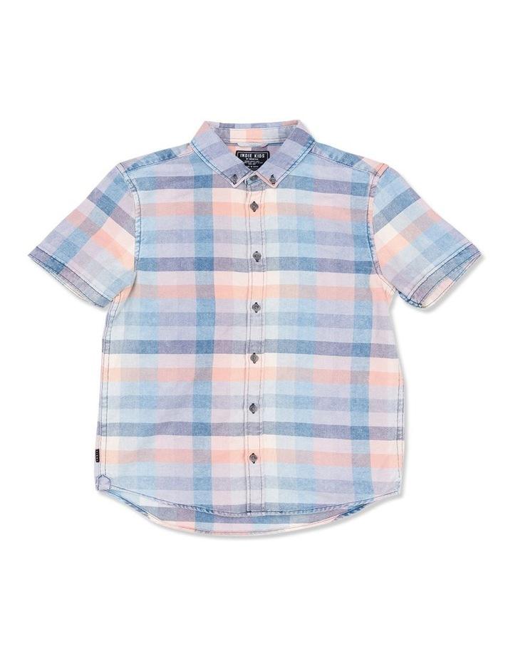 Fade Check Short Sleeve Shirt image 1