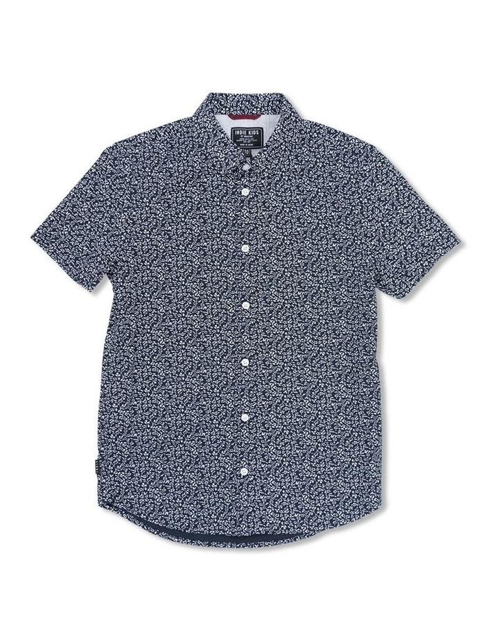 Vine Print Short Sleeve Shirt image 1