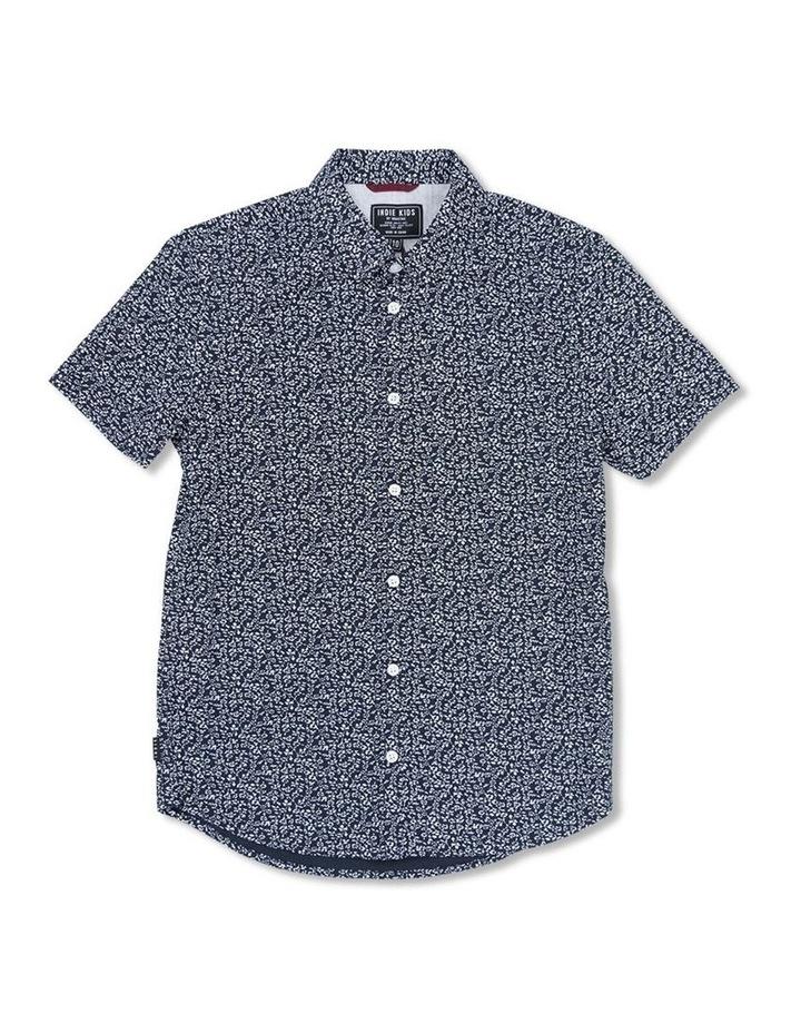Vine Print Short Sleeve Shirt image 1