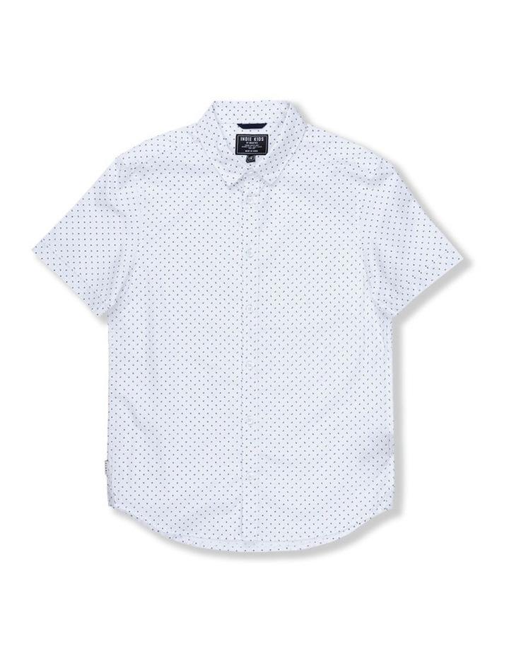 Tri Polka Short Sleeve Shirt 8-14 image 1