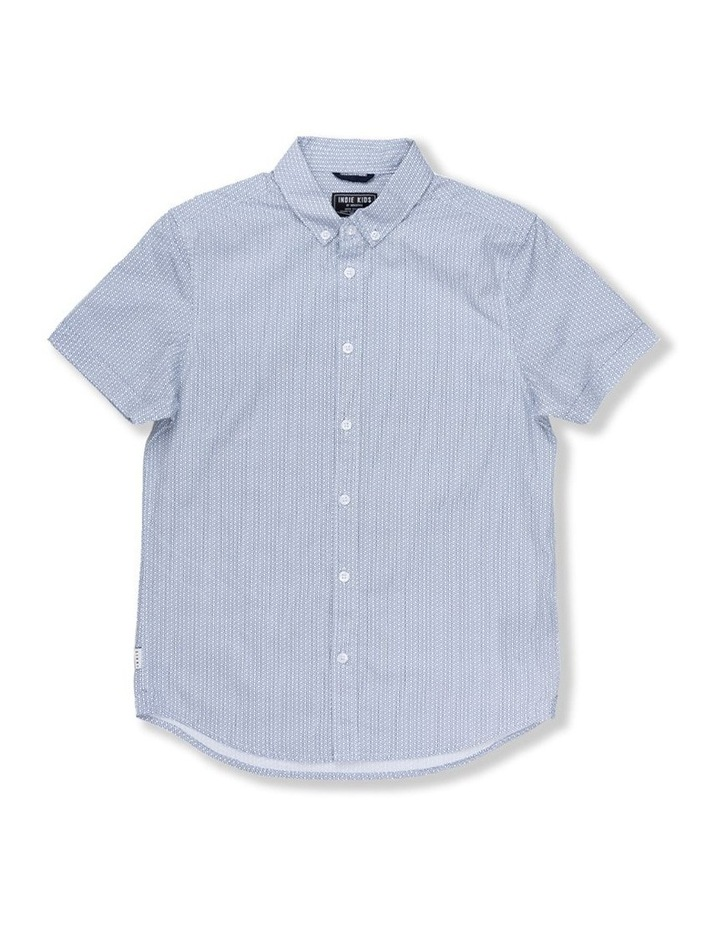 Geo Line Short Sleeve Shirt image 1
