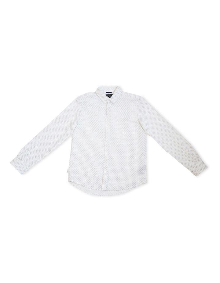 Paisley Linen Long Sleeve Shirt 8-14 image 1