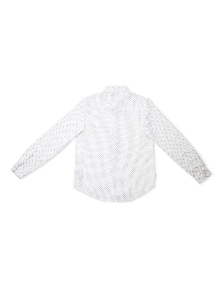 Paisley Linen Long Sleeve Shirt 8-14 image 2
