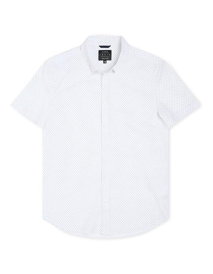 The Woodgate Short Sleeve Shirt White image 1